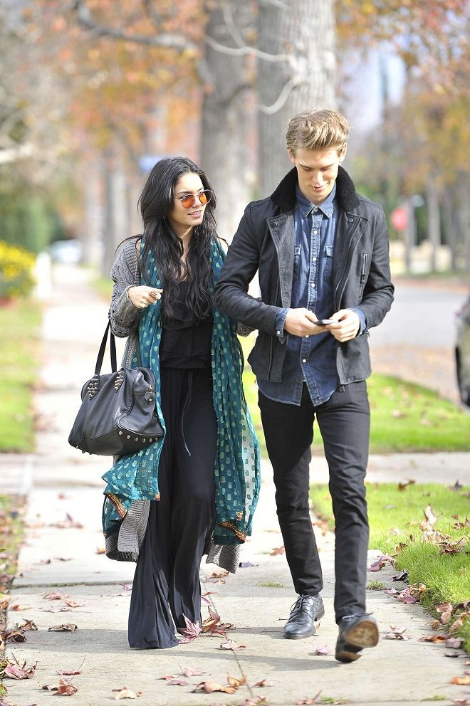 Vanessa Hudgens goes boho chic for her day out with Austin Butler