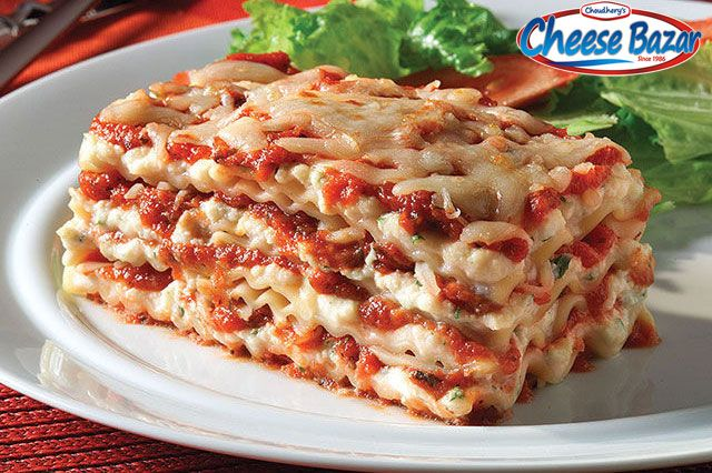 Ricotta Cheese Lasagna  Ingredients: 1 Cup Original Ricotta Cheese 3 cups Shredded Mozzarella Cheese, divided 1/2 cup KRAFT Grated Parmesan Cheese, divided 1/4 cup chopped fresh parsley 1 egg, beaten 1 egg, beaten 3 Tomato and Basil Pasta Sauce 12 lasagna noodles, cooked