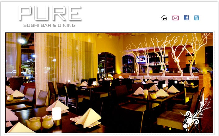 PURE Sushi ~ Scottsdale.  Simply the Best!