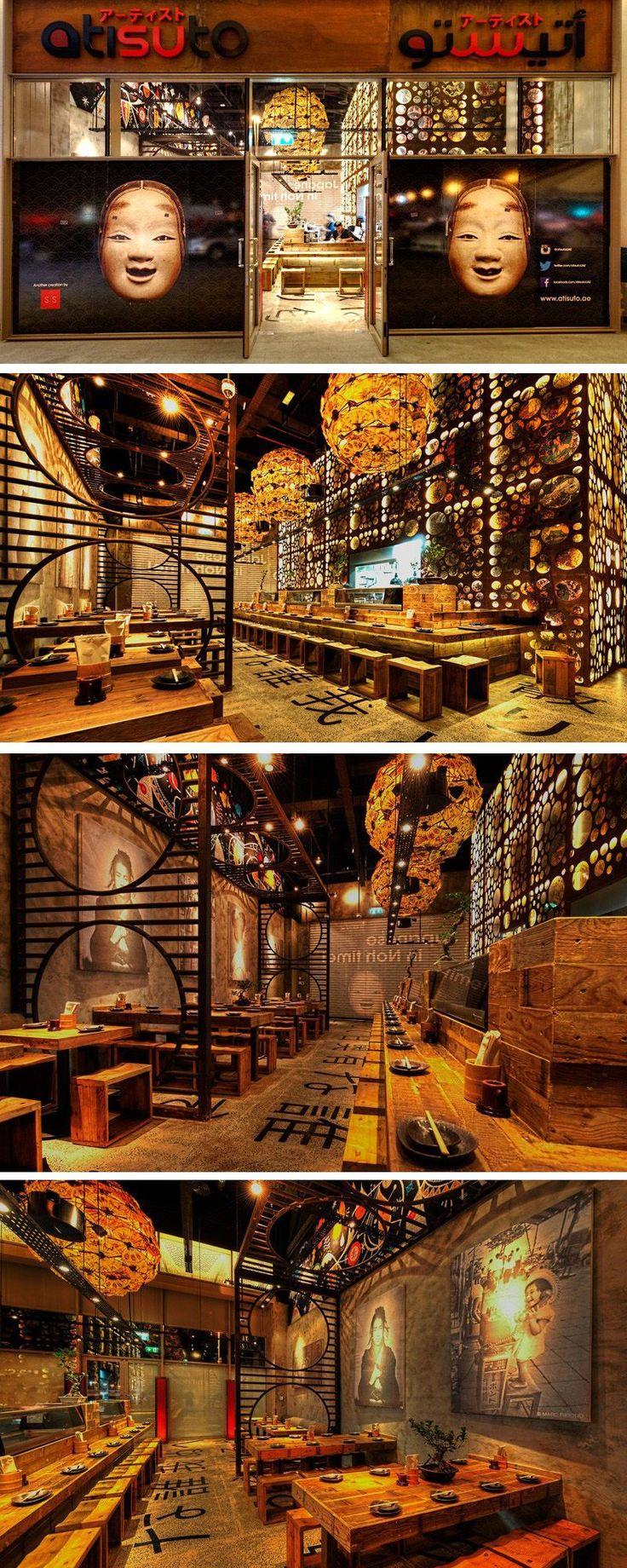 Mojo Design Completes Atisuto Japanese Restaurant In Dubai