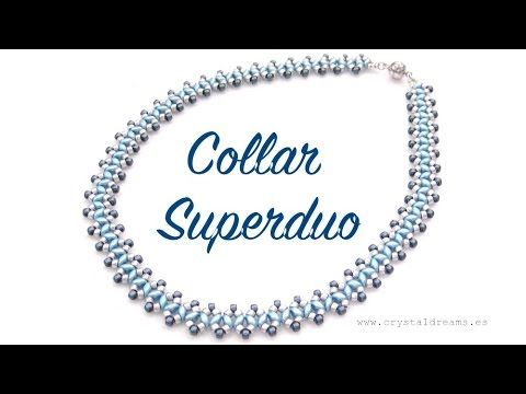 Collar con Superduo - YouTube