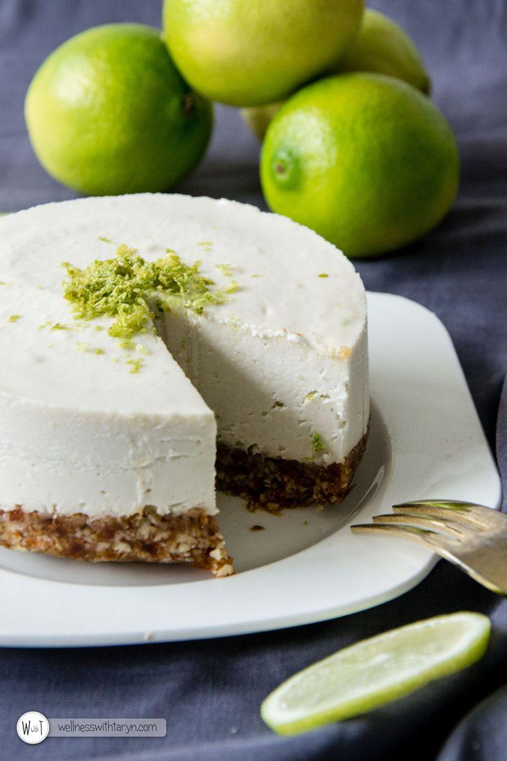 Raw Vegan Lemon & Lime Cheesecake