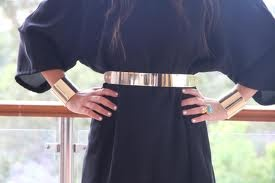 need a solid gold metal belt