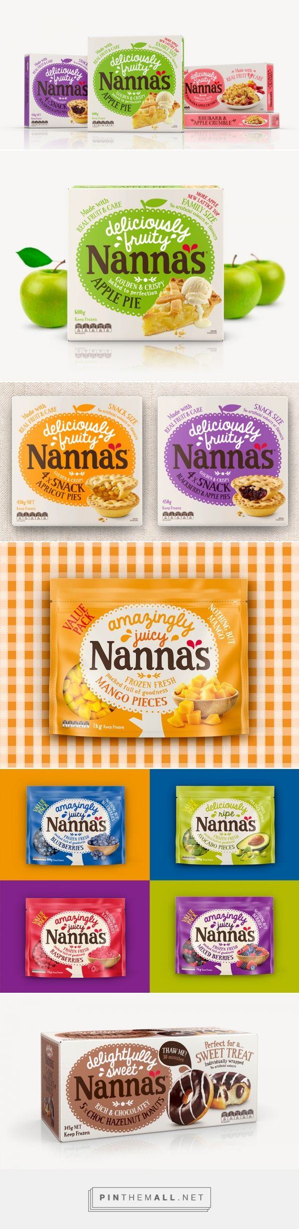 Nanna's — The Dieline - Branding & Packaging - created via http://pinthemall.net