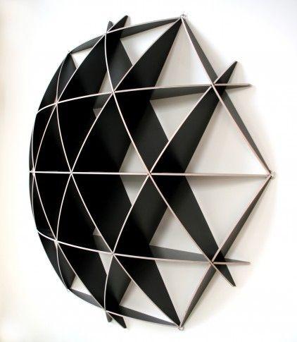 Small COMB Shelving Sphere by Jaanus Orgusaar