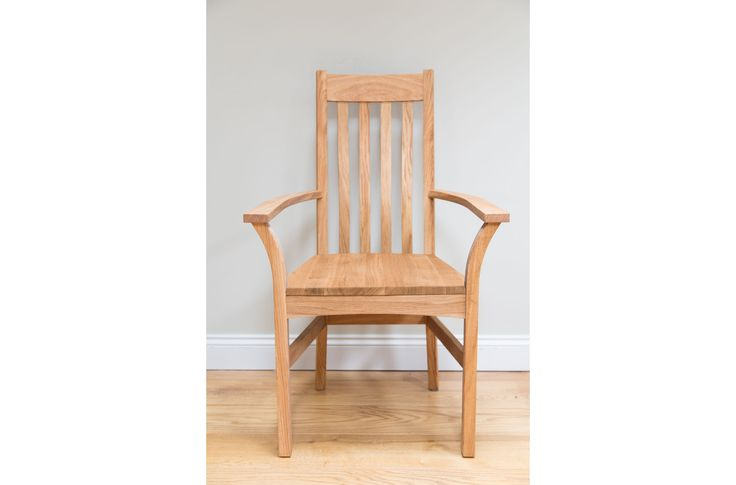 Winchester Solid Timber Seat Carver Dining Chair