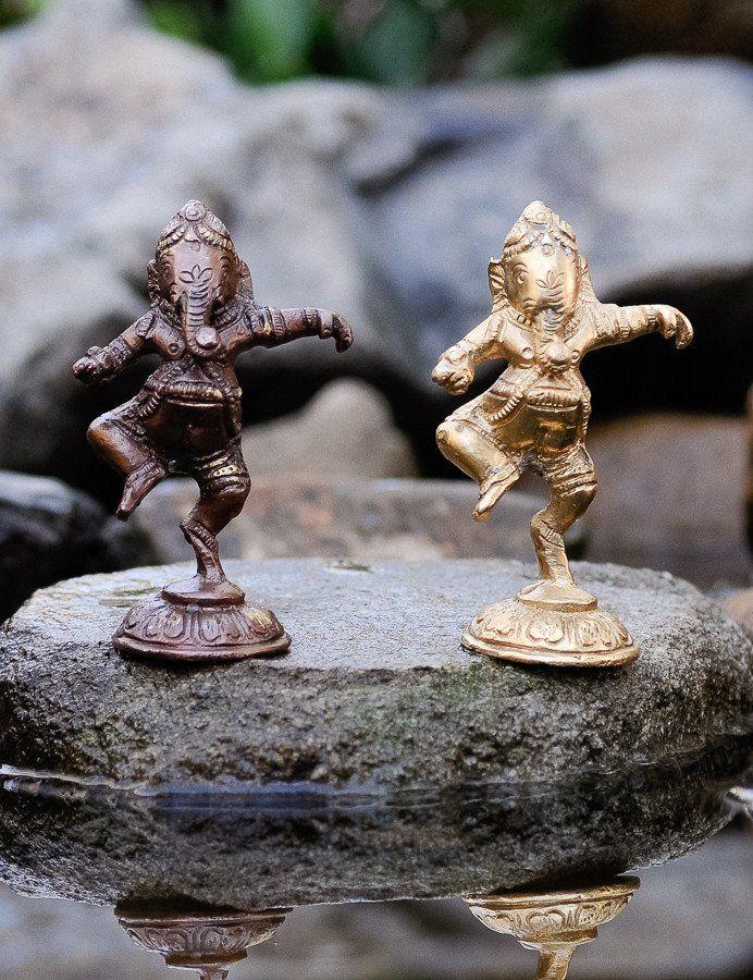 Dancing Ganesh Statue - all