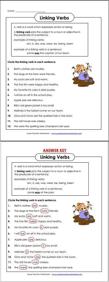 17 Best images about Language Arts - Super Teacher Worksheets on ...