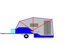 Now that I have the Goldwing with its extra power and towing capacity, I would like to upgrade from my current cargo trailer to a tent trail...