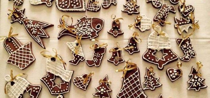 Pečené vánoční ozdoby, které vám budou všichni závidět!
