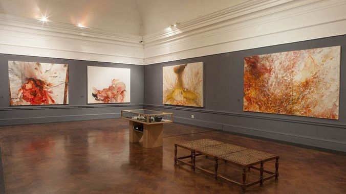 Penny Siopis's retrospective exhibition, Time and Again at the Iziko National Gallery. (Mario Todeschini.)
