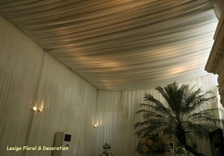 Dekorasi kain tenda