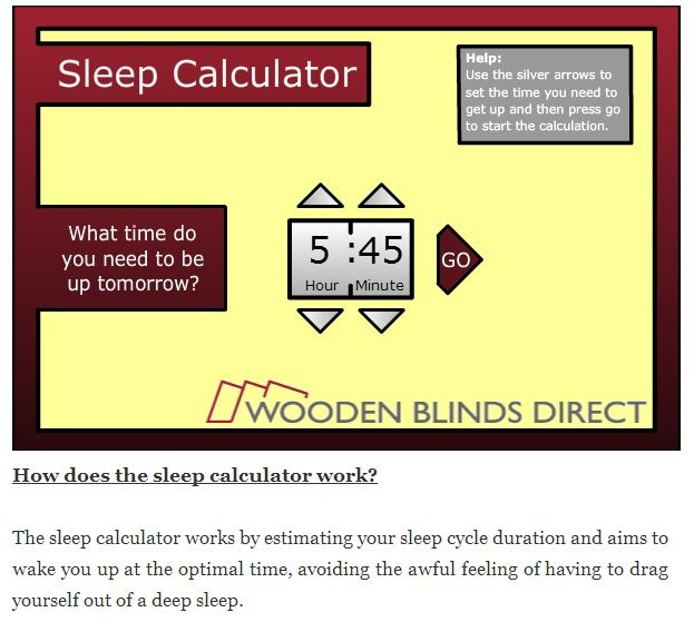 Best  Sleep Calculator Ideas Only On   Calculator