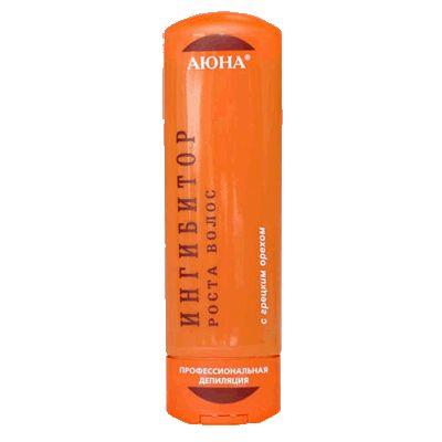 Ингибитор, замедляющий рост волос, с грецким орехом, 125 мл.. Крем-гель с экстрактом грецкого ореха,. Обладает также противовоспалительным и успокаивающим действием.