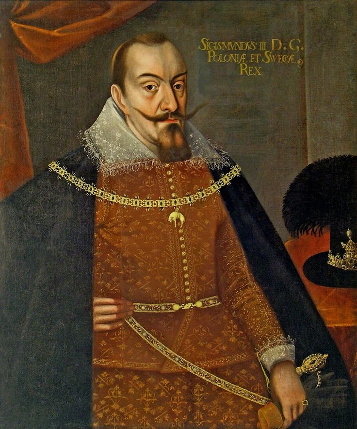 Portrait of King Sigismund III Vasa by Anonymous, ca. 1620 (PD-art/old), Muzeum…
