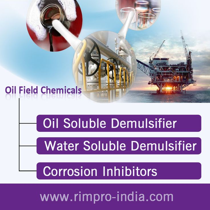 Offers top quality oil soluble demulsifiers which are designed to give excellent demulsifying action to separate water and oil from water in oil and oil in water type of emulsions. Visit at http://www.rimpro-india.com/oil-field-chemicals.html.