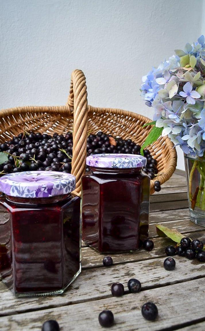 die besten 25 aronia marmelade ideen auf pinterest aroniabeere rezepte abnehmen mit ingwer. Black Bedroom Furniture Sets. Home Design Ideas