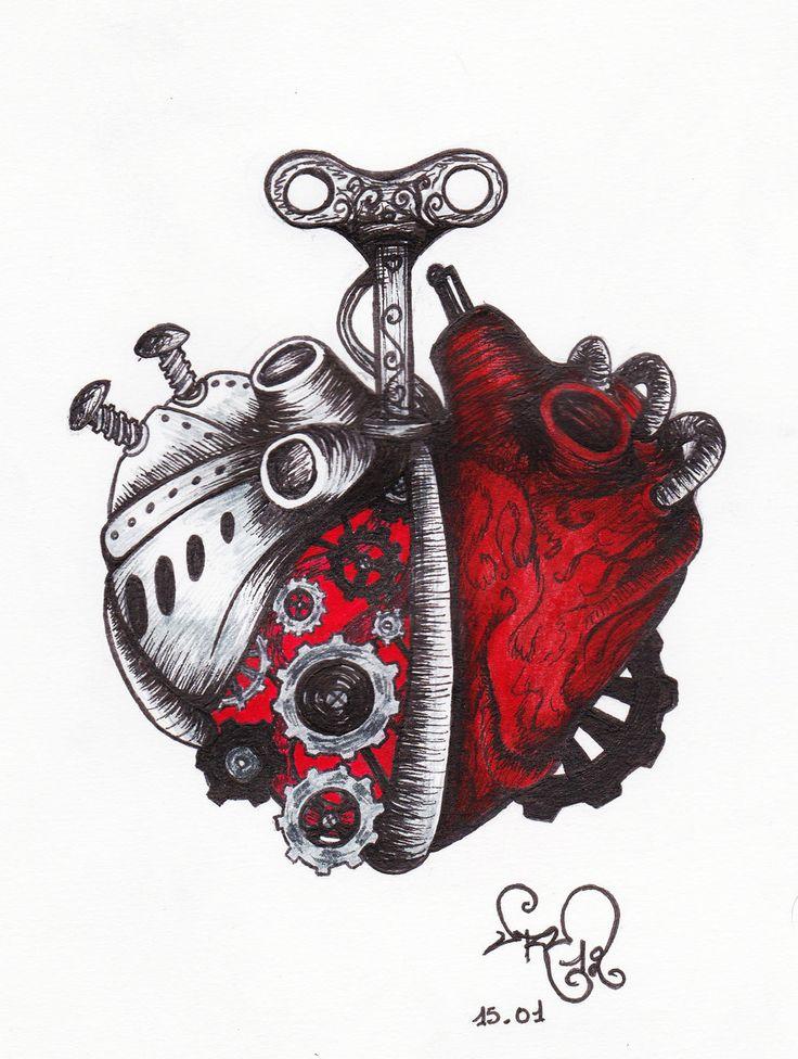 A Clockwork Heart by devil-urumi.deviantart.com on @deviantART