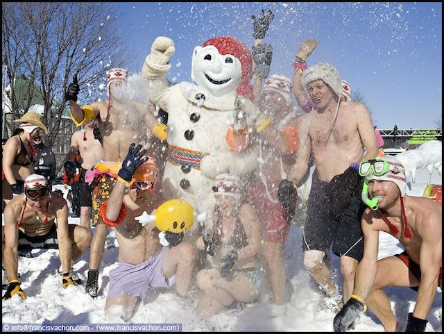 Carnaval de Inverno – Quebec, Canadá