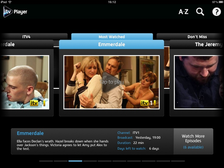 APP OF THE DAY - ITV Player (iPad / iPhone) - Pocket-lint