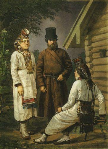 Карелин Андрей Осипович Мордва Сергачского уезда