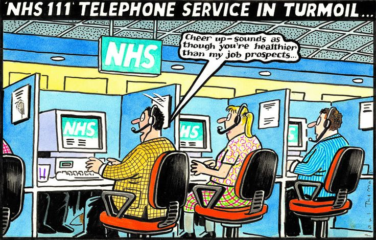30 July 2013 - NHS helpline may be closing down - the call centre workers have bad job prospects.