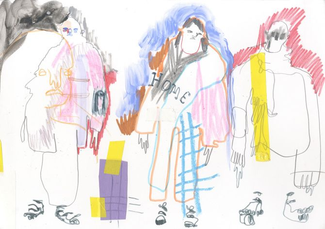 Sketchbook and Illustration - Paolina Alexandra Russo