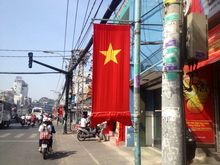 Saigon approaching Tet