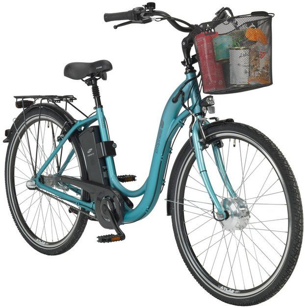 E Bike City Geniesser E920 26 28 Zoll 3 Gang Frontmotor 250 Wh Em 2020