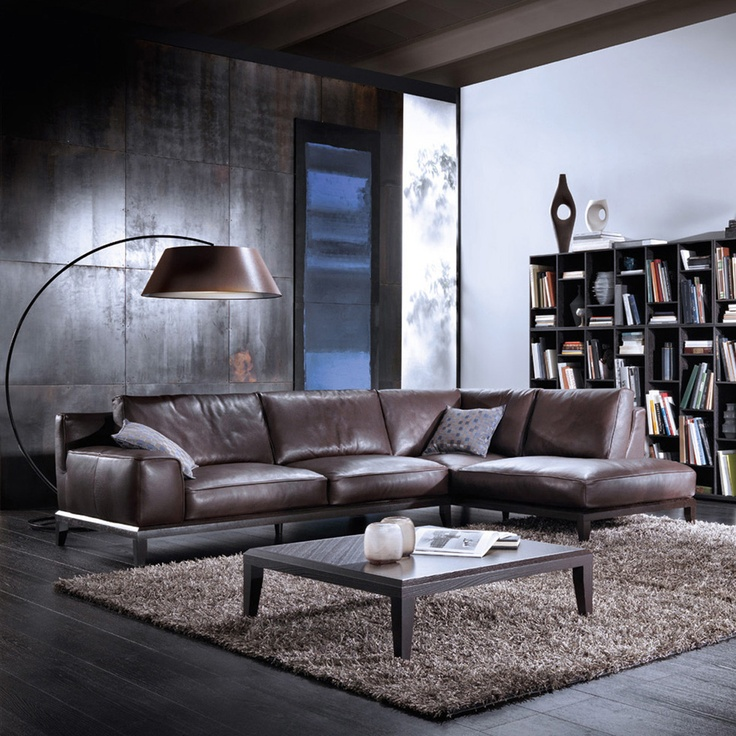 Italian sectional sofa. Super modern. Looks awesome!