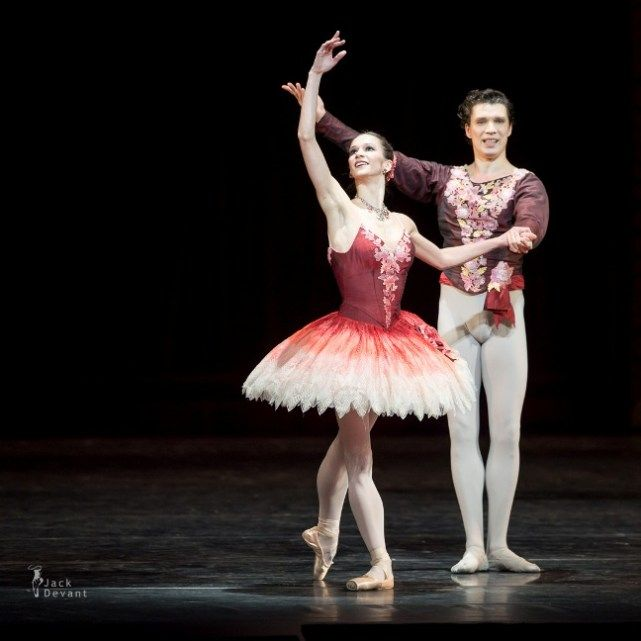 Polina Semionova and Maxim Chaschegorov