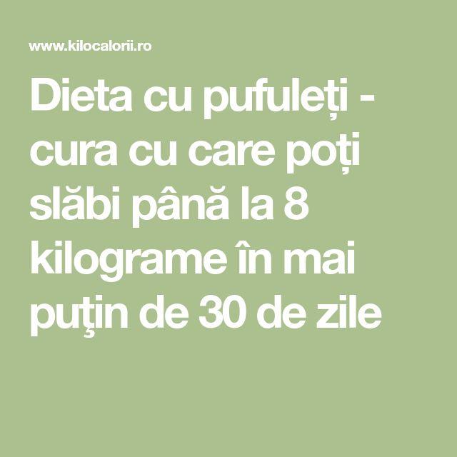 Dieta cu pufuleți - cura cu care poți slăbi până la 8 kilograme în mai puţin de 30 de zile