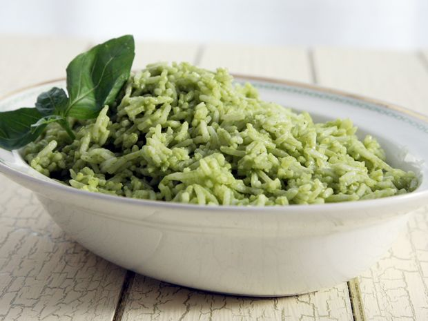 Green Goddess Rice. I'd probably follow the suggestions and use lime and cilantro instead of lemon and basil!