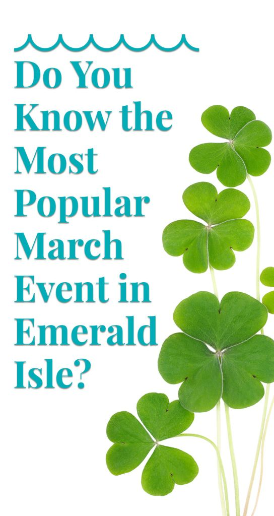 What's the biggest March event in Emerald Isle, NC? We'll give you a hint: wear green and gold. Find out the answer (plus more events and fun things to do) right on our blog. Save these dates and book your Emerald Isle rental now!