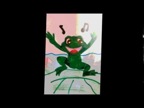 Le printemps de la grenouille chanson comptine pour enfants Eléa Zalé