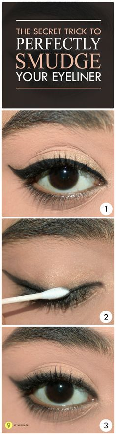QUICK TIP: HOW TO PREVENT YOUR EYELINER FROM smudging