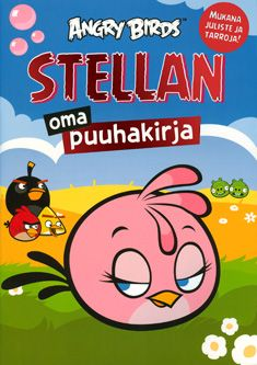 Angry Birds - Stellan oma puuhakirja - Nidottu, pehmeäkantinen (6411770218115) - Kirjat - CDON.COM 4,95