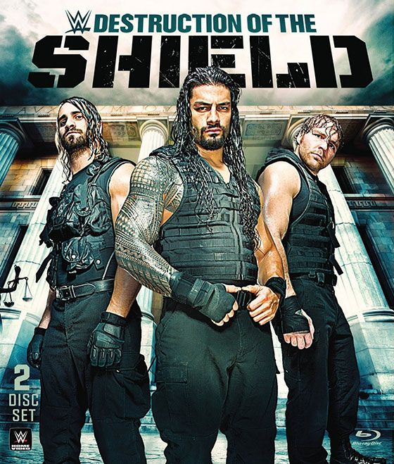 'WWE Destruction of the Shield' Blu-ray Review | Nerdly