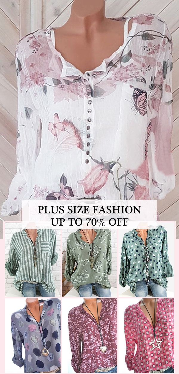 UP TO 70% OFF! Plus size women fashion outfits. Special photography method. 1