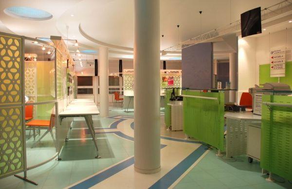 Rénovation de l'espace accueil public / La Caisse d'Assurance Maladie de Meaux en Ile-de-France