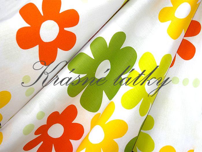Květiny jarní  š. 240cm top kvalita