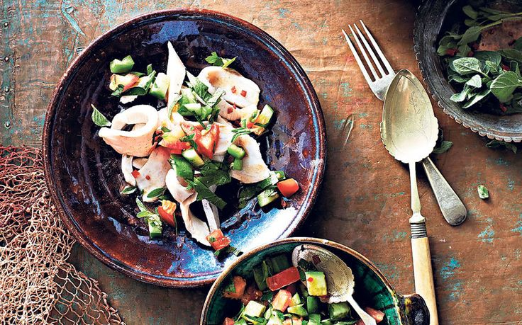 This simple sea bass ceviche, marinated with lemon, lime, garlic, chilli and   coriander makes a impressive summer lunch