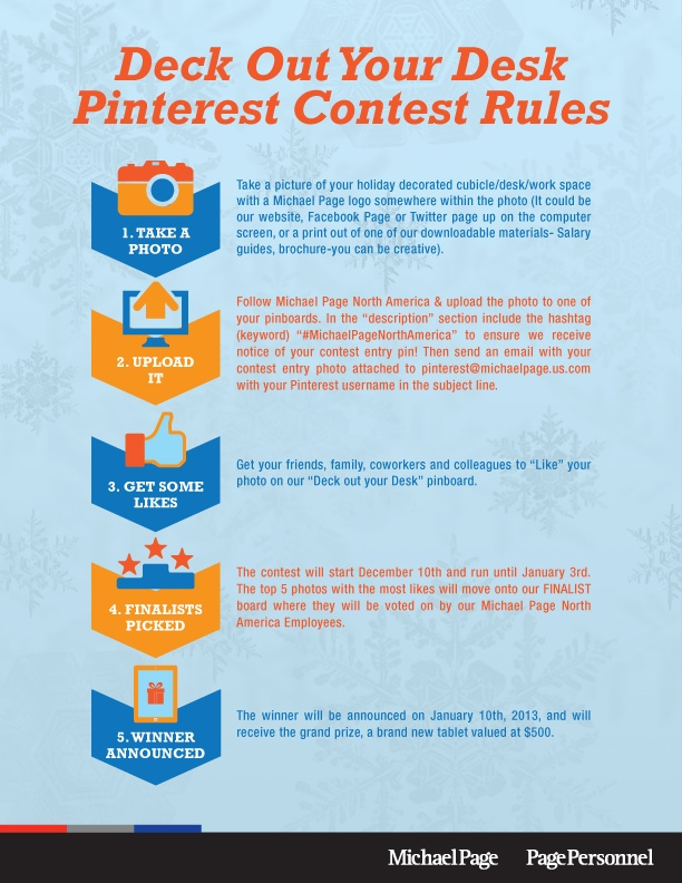 PINTEREST GIVEAWAY RULES