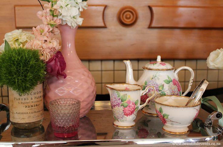 High tea styling