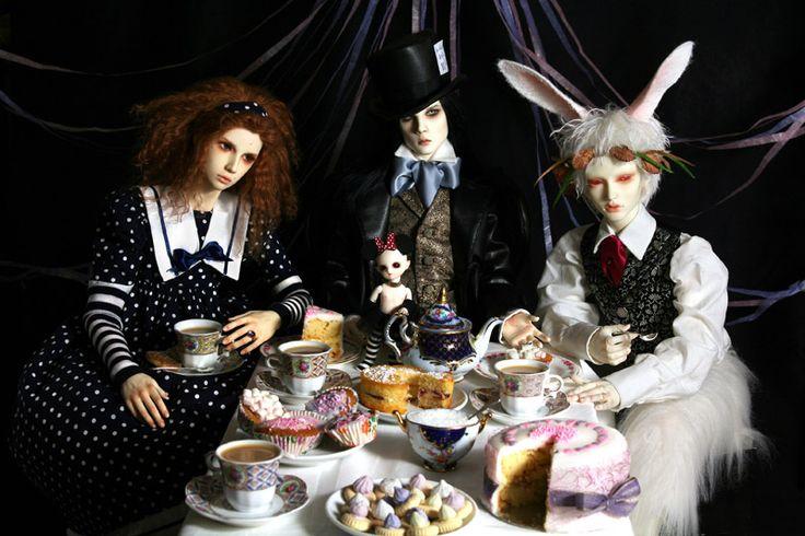 Игра, которая меня восхищает. Ночной Цирк. MadamMauMau. NachtZirkus, the Strangest Show on Earth / BJD - шарнирные куклы БЖД / Бэйбики. Куклы фото. Одежда для кукол