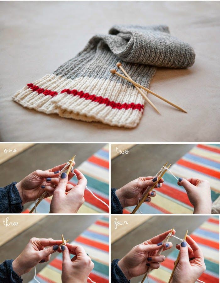 Poppytalk: Knit a Scarf! A Beginners Guide to Knitting