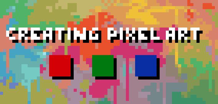 Creating Pixel Art - tutorials from Pixel Joint Forum: The Pixel Art Tutorial