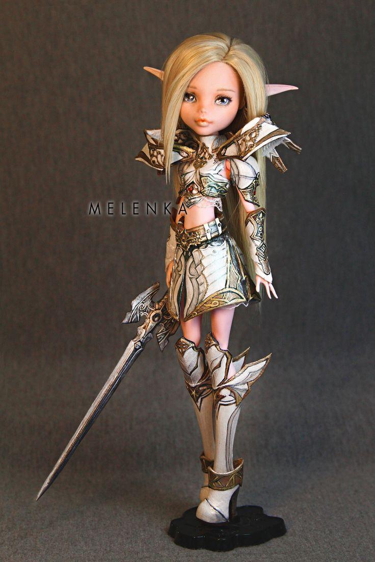 #armor #custom #cute #dancer #doll #elf #heavy #la2 #lineage2 #majestic #ooak #repaint #set #sword #swordsinger #sws #warrior #keshanberk #melenka