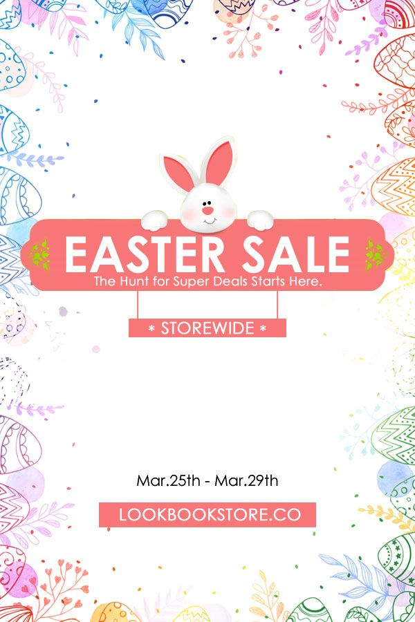 What's Up // The hunt for super deals starts here. Get up to 10% off on orders $60 and up using the code: EASTER10, a 15% off on orders $80 and up with code: EASTER15, and a 205 off on orders $100 and up. #LBSEasterSale starts March 25 and ends on March 29, 2016.