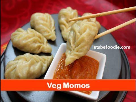 Veg momos recipe/famous evening tea snacks recipes/easy starter dish ideas for kids-letsbefoodie.com - YouTube